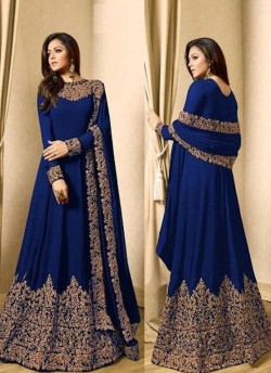 Anarkali LT1701 blue